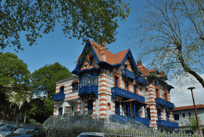 Villa typique de la ville d'hiver